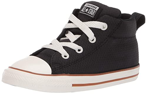 6655596644e Converse Boys Infants  Chuck Taylor All Star Street Pinstripe Mid Top  Sneaker