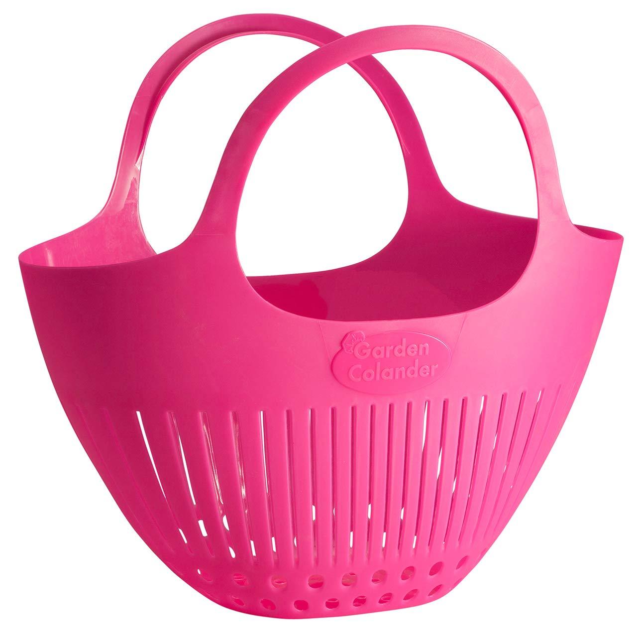 Hutzler Garden Colander, Pink