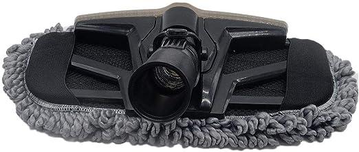 Kitabetty Accesorios para aspiradoras, aspiradora Mop Cabezal Cepillo Cabeza 2 en 1 Aspiradora Accesorios con Cuello de Manguera Flexible, Rodillos Lisos.: Amazon.es: Hogar