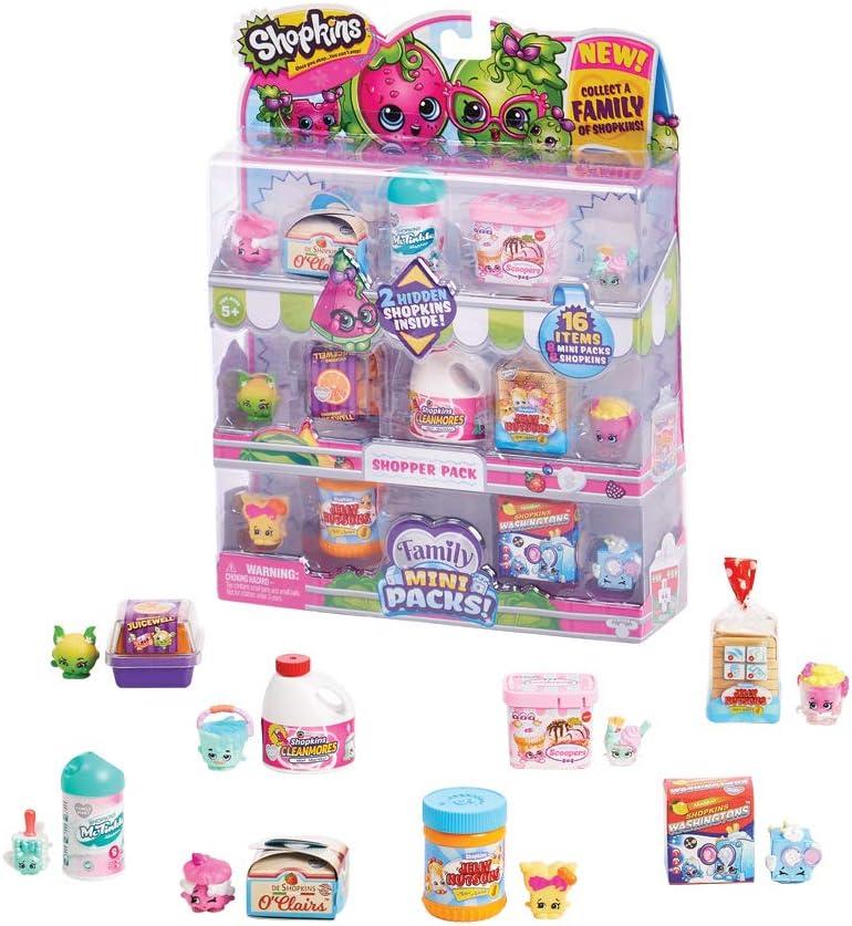 Shopkins HPKF3000 Mini Shopper Pack
