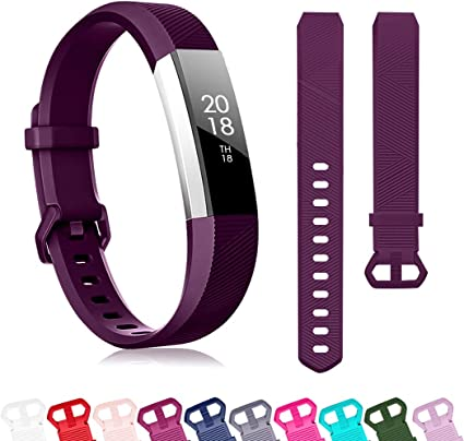 Purple Large Fitbit Alta Large Classic Accessory Band