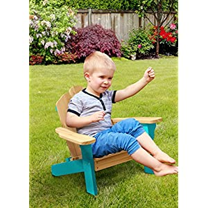 Heritage Kids Adirondack Kids Chair, Turquoise