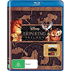 Lion King Trilogy [Blu-ray]