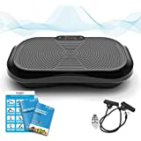 Bluefin Fitness Vibration Platform | Ultra Slim | Built-in Bluetooth Speakers | Silent Drive Motor | Ideal for Toning…