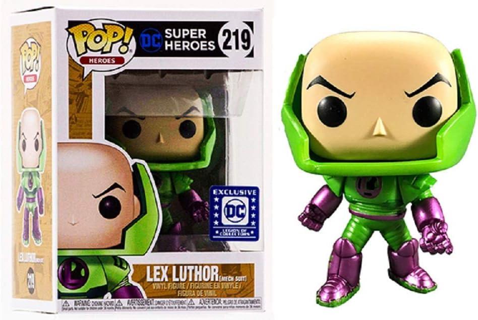 Funko Pop Heroes 219 Lex Luthor Mech Suit DC Legion Of Collectors Exclusive