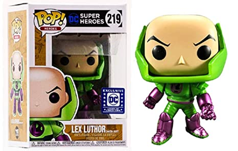 Film, Tv & Videospiele Funko Pop Vinyl #219 Dc Super Heroes Series Comics Lex Luthor Figure