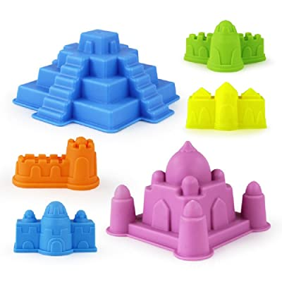 Minibaby Kids Fun Play Reusable Squeezable Moulding Tools/Perfect Beach Castle: Toys & Games