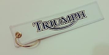 Llavero con texto Triumph: Amazon.es: Coche y moto