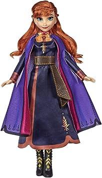 Frozen 2 - Muñeca Cantarina Anna (Hasbro E6853TG0): Amazon.es ...