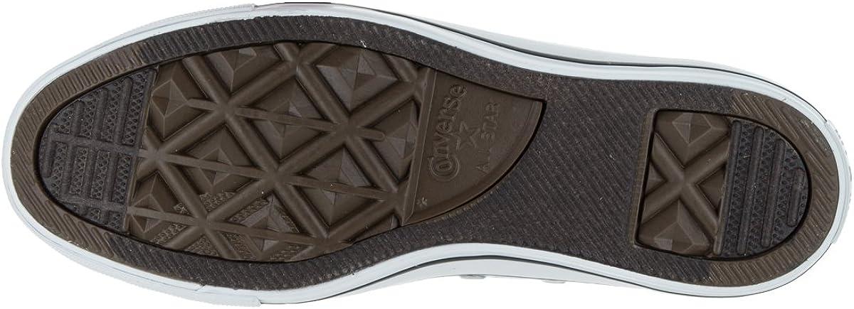 Converse Chuck Taylor All Star Ox, Baskets Mixte Glacier Metallico Bianco E Nero