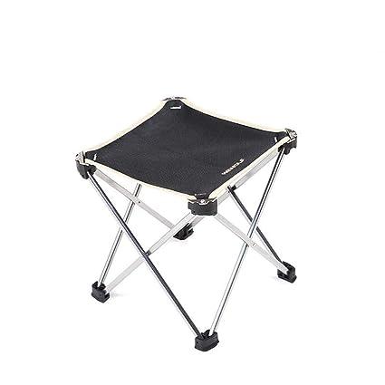 Amazon.com: MAOYOU Taburete plegable portátil, para acampar ...