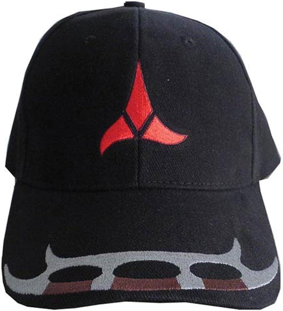 UNWORN! STAR TREK Klingon Red Tri-Foil Logo Baseball Cap//Hat from Roddenberry