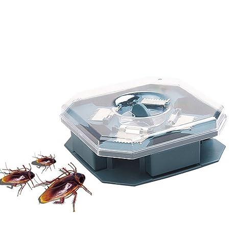 Hrph Las cucarachas segura eficiente Anti Trampa Killer Plus grande del reflector No contamine No eléctrico