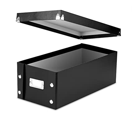 Superbe Snap N Store DVD Storage Boxes, 15.5 X 5.5 X 7.625 Inches,