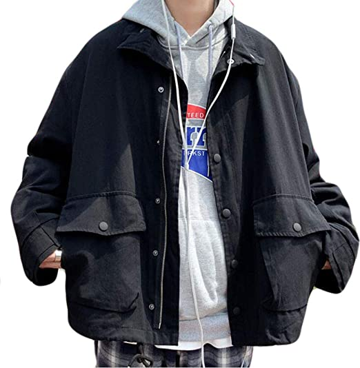 REHOODNメンズ コート ジャケット ブルゾン デニム コート 長袖 アウトドア コート 防風 ファッション メンズ アウター デニム コート