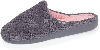 isotoner - Zapatillas para mujer con textura