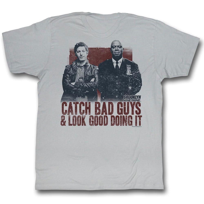 Brooklyn Nine-Nine Comedy TV Show Fox Series Catch Bad Guys Adult T-Shirt Tee