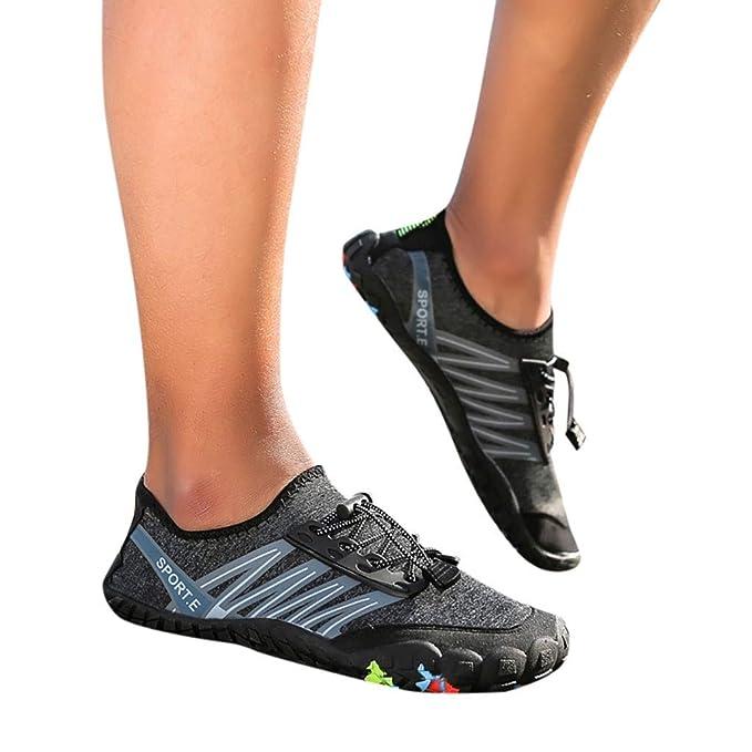 Amazon.com: Xinantime Mens Womens Beach Swim Shoes Quick-Dry ...
