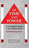 img - for Of Time and Power: Leadership Duration in the Modern World book / textbook / text book