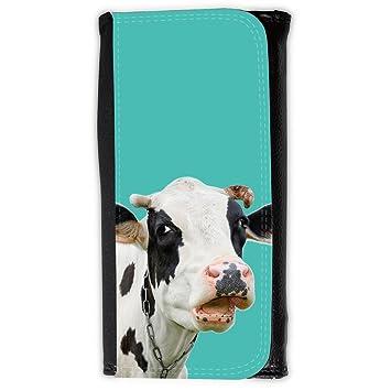 Cartera para hombre // Q05710634 Vaca curiosa Turquesa ...
