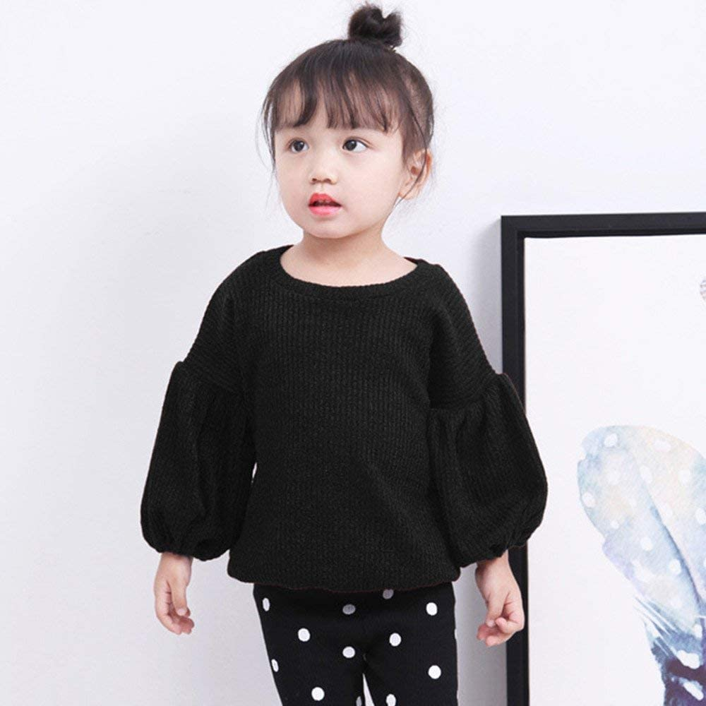 Bon Soir Infant Baby Toddler Girls Fall Winter Clothes Blouse for 1-4 Years Old,Cute