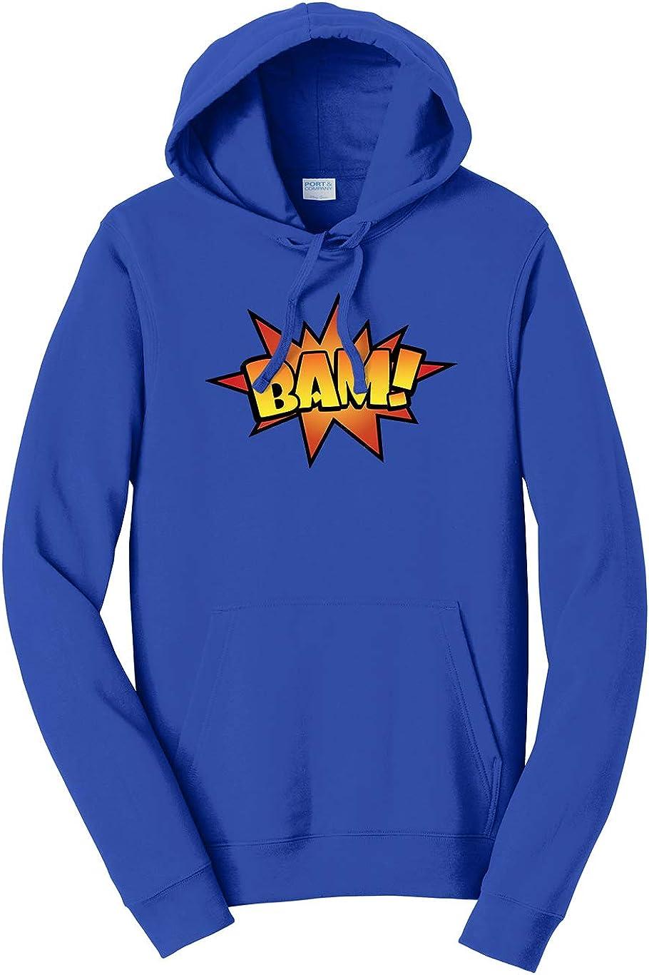 Tenacitee Unisex BAM Comic Hooded Sweatshirt