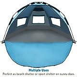 Amazon Com Genji Sports Instant Beach Star Tent Blue