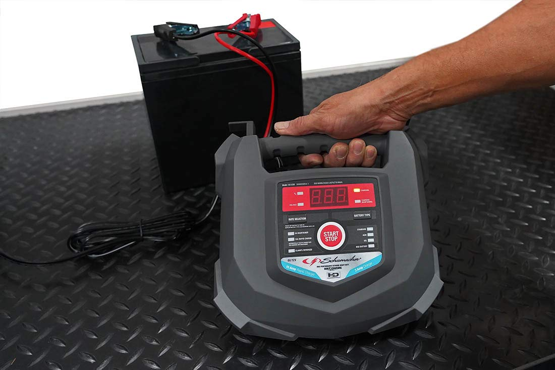 Schumacher SC1280 6/12V Rapid Battery Charger and 15A Maintainer by Schumacher (Image #5)