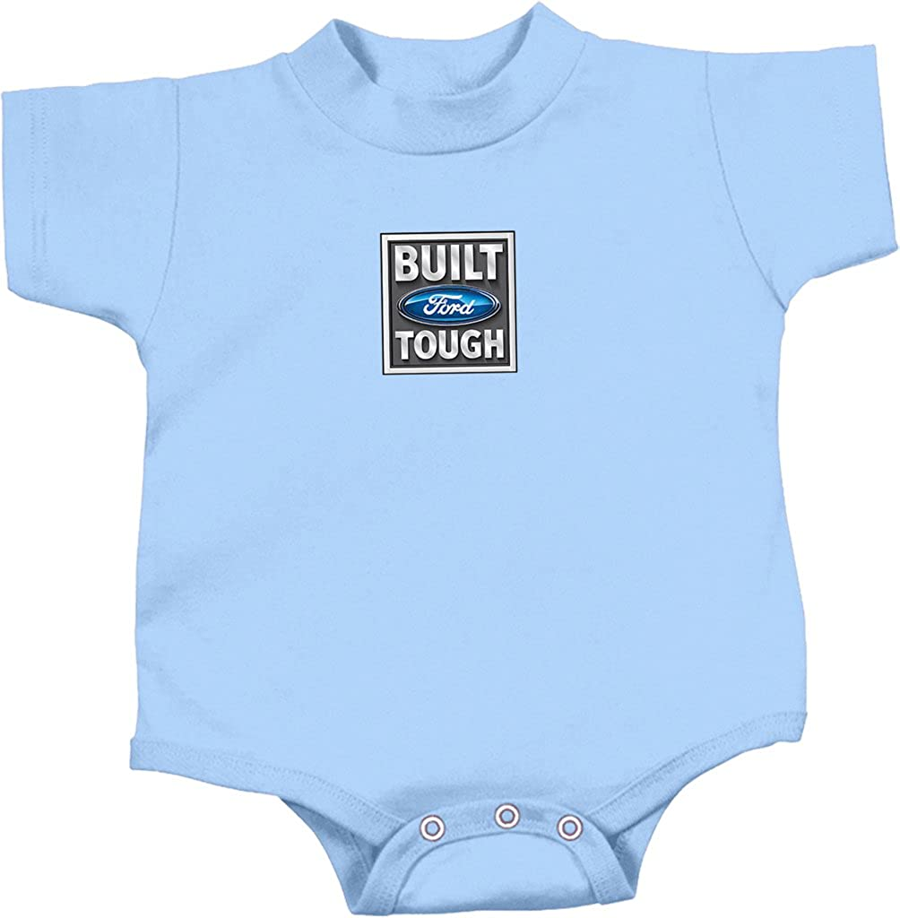 Buy Cool Shirts Ford Romper Built Ford Tough Baby Creeper Small Print