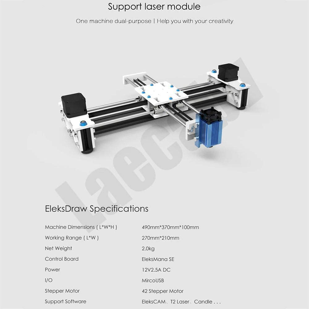 2 ejes DIY CNC XY Plotter Pen Desktop Drawing Robotics Alta ...