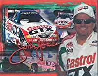 John Force Castrol GTX AA Fuel Mustang Funny Car NHRA promotional card 2000