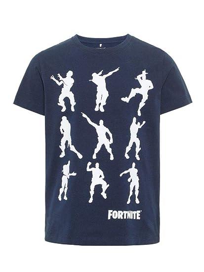 Name IT NOS Nkmfortnite Alex SS Top Noos LIC Camiseta para Niños ...
