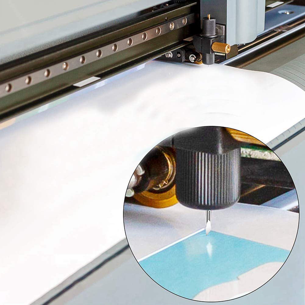 CJRSLRB 30Pcs 30 Degree Vinyl Cutting Blades Fabric Cutting Replacement Blades for Explore Air//Air 2 Maker Expression