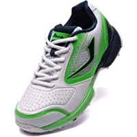 c51e7bd4b6a5 Jazba SKYDRIVE 100 Cricket Shoes for Men I Durable Traction Rubber Stud I  Ventilated and Responsive