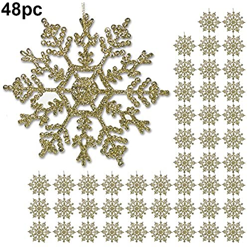 silver and gold christmas decorations amazoncom - Gold Christmas Decorations