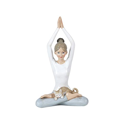 Vidal Regalos Figura Decorativa Clasica Chica Yoga Resina 16 cm
