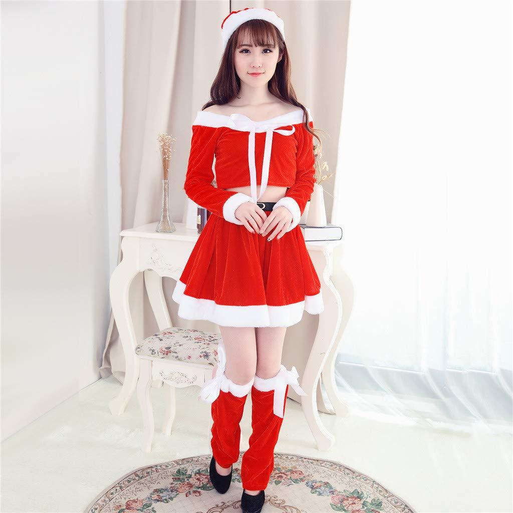 Amazon.com: 2019 Sexy Lencería para mujer, fiesta de Navidad ...