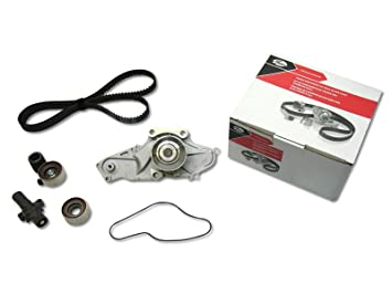 GATES 06 12 Honda Ridgeline 3.5L V6 Engine Timing Belt Water Pump Kit TCKWP