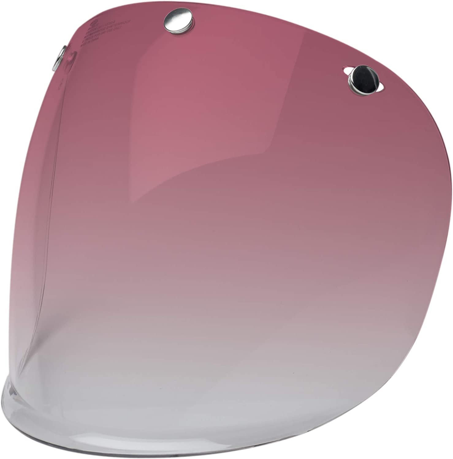 Bell 3-Snap Bubble Deluxe Shield Ice Blue