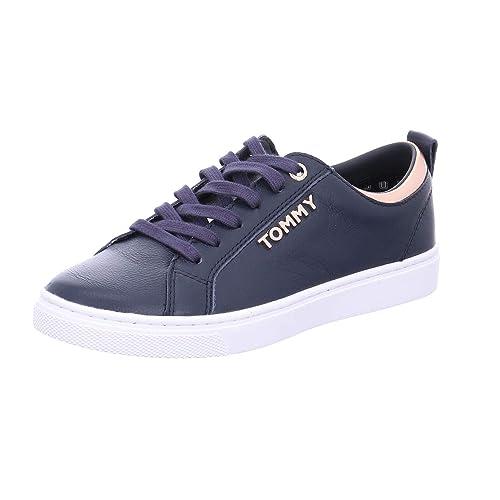 Zapatillas Tommy Hilfiger City SN Marino de Mujer: Amazon.es: Zapatos y complementos