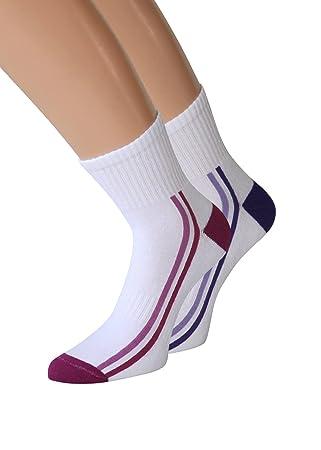 kb-Socken Mujer Trekking Calcetines Juego de Mujer Trekking Calcetines Calcetines Calcetines Calcetines de Jogging, 2 o 6 Pares: Amazon.es: Deportes y aire ...