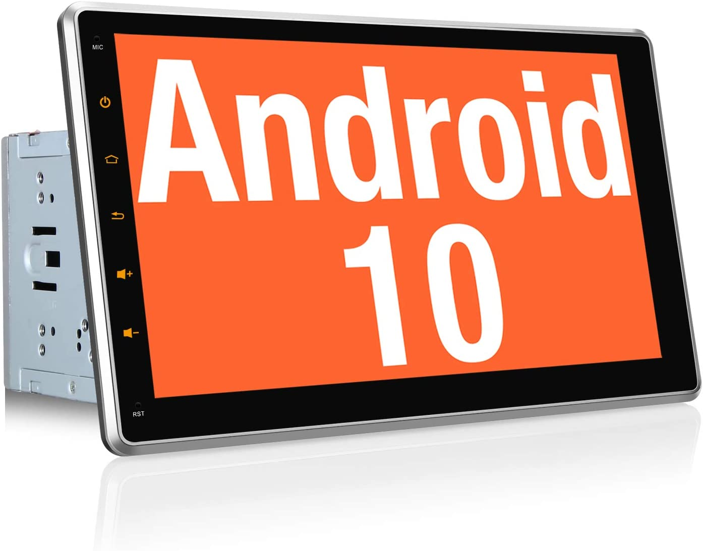 """Vanku Android 10 Autoradio GPS Navegación con 10.1"""" IPS Pantalla Ajustable, 2 DIN Radio de Coche Soporte Bluetooth, Control Volante, WiFi, USB, SD, Mirror-Link, 4G: Amazon.es: Electrónica"""