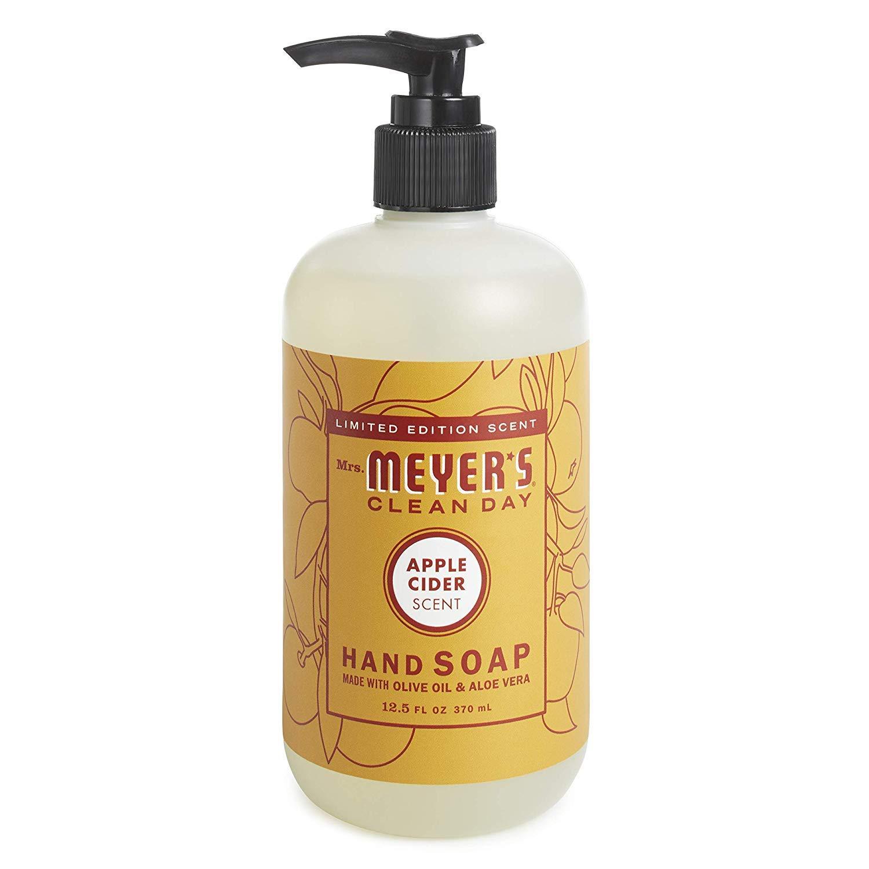 Mrs. Meyer´s Clean Day Hand Soap, 12.5 fl oz (Apple Cider, Pack - 3)