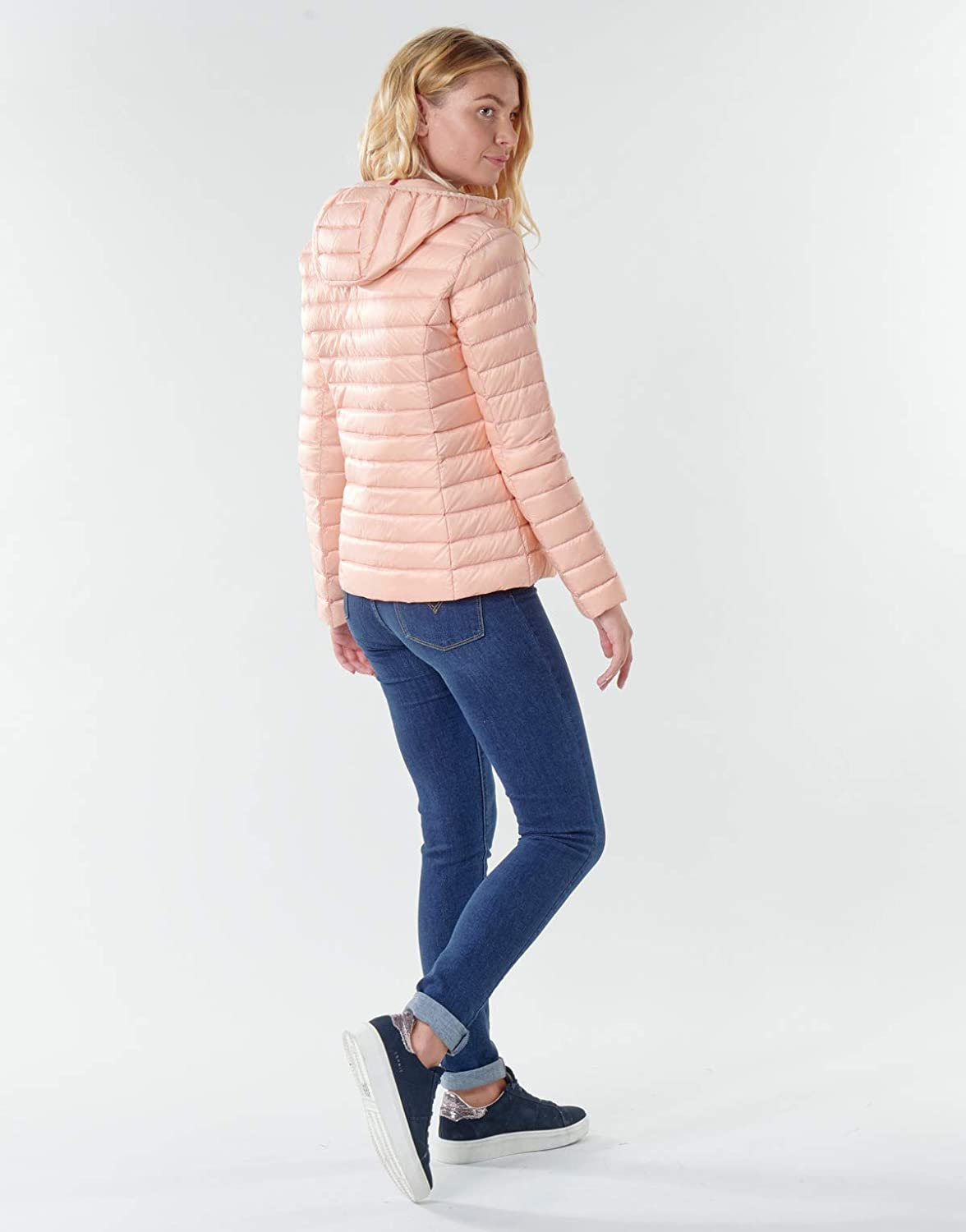 JUST OVER THE TOP, Cloe ml capuche basique, Vieux rose Rosa