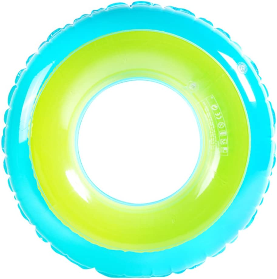 XFunino Inflatable Pool Float Large Size Swim Ring Dual Air Chamber 30''(inches) Water Tube Pool Raft Extra Thick Pool Toy Safty Pool Accessories for Kids/Teenagers