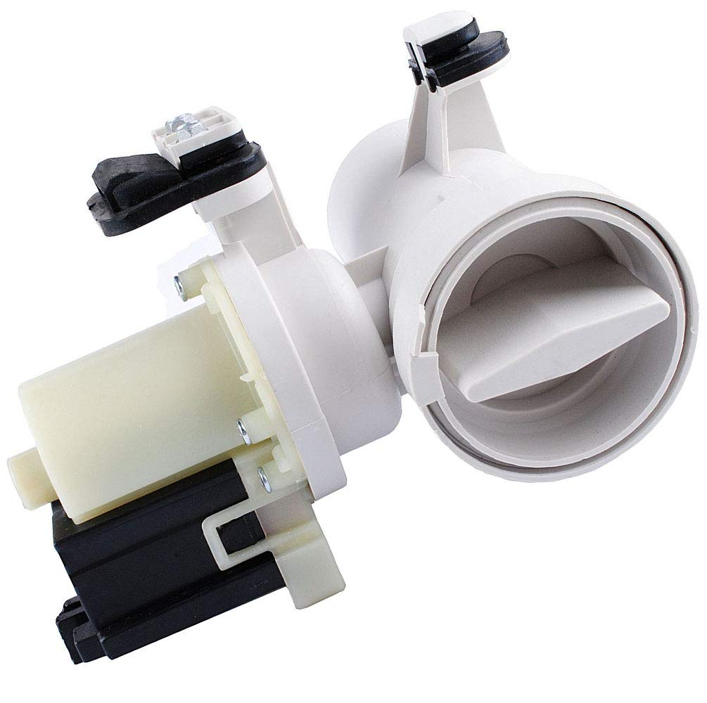 WPW10730972 Washer Drain Pump Replaces 8540024 W10130913 850024 AP6023956 8540025 W10117829 W10730972 8540996 W10183434