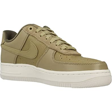 buy popular c8b0f 28fc7 Amazon.com   Nike Women s Air Force 1  07 LX Neutral Olive White   Shoes