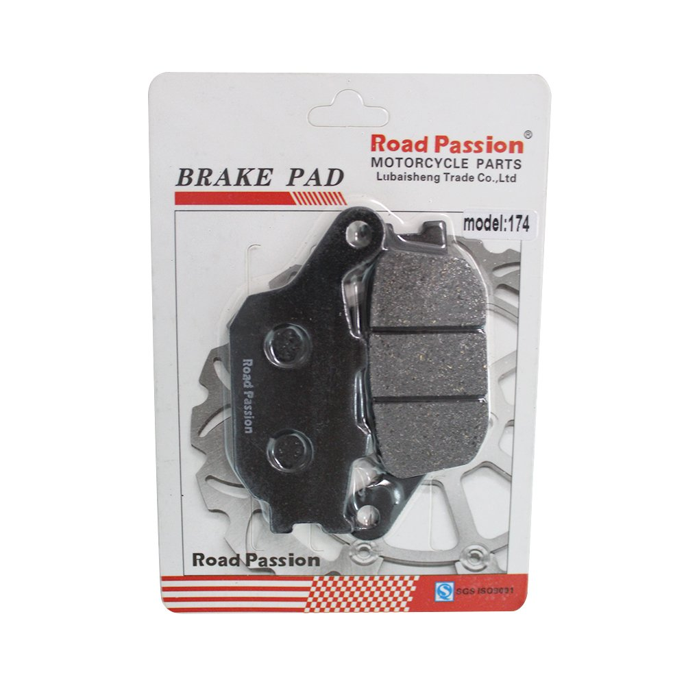 Road Passion Bremsbel/äge Vorne /& Hinten Satz F/ür Kawasaki Z750 ZR750L 2007-2011//Z750 ABS ZR750M 2007-2011