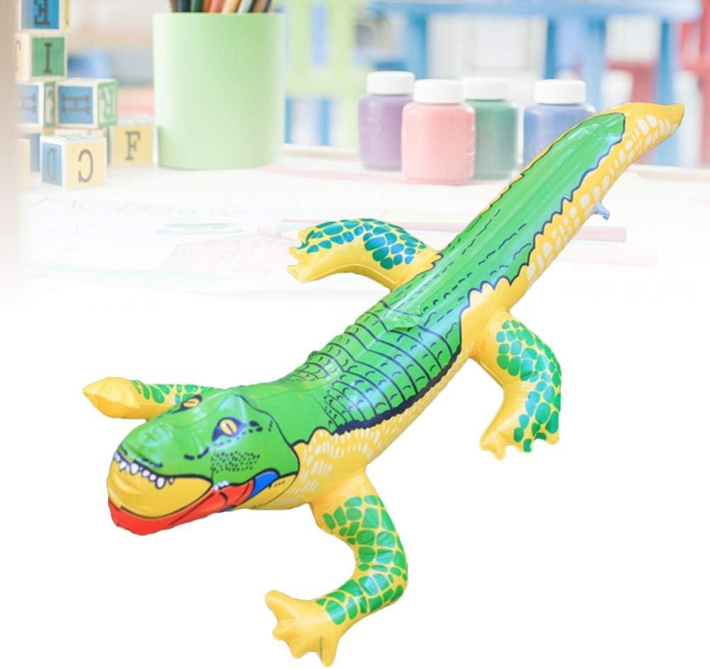 Toyvian Cocodrilo Inflable Juguetes Divertidos de Agua Cocodrilo Juguete Globo de cocodrilo para Piscina de Verano Juguetes para niños: Amazon.es: Productos para mascotas