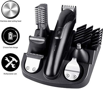 Grooming kit, leegoal impermeable afeitadora 6 en 1 recortador ...